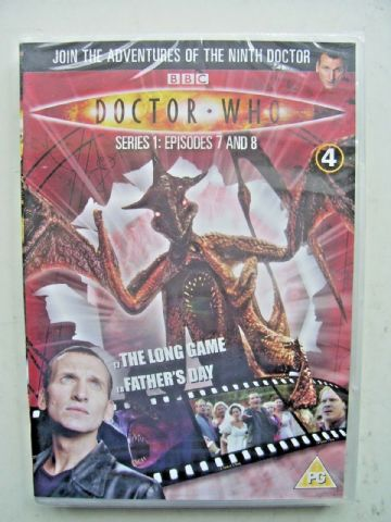 Doctor Who Series 1 Episodes 7 & 8  DVD  Christopher Eccleston  - NEW